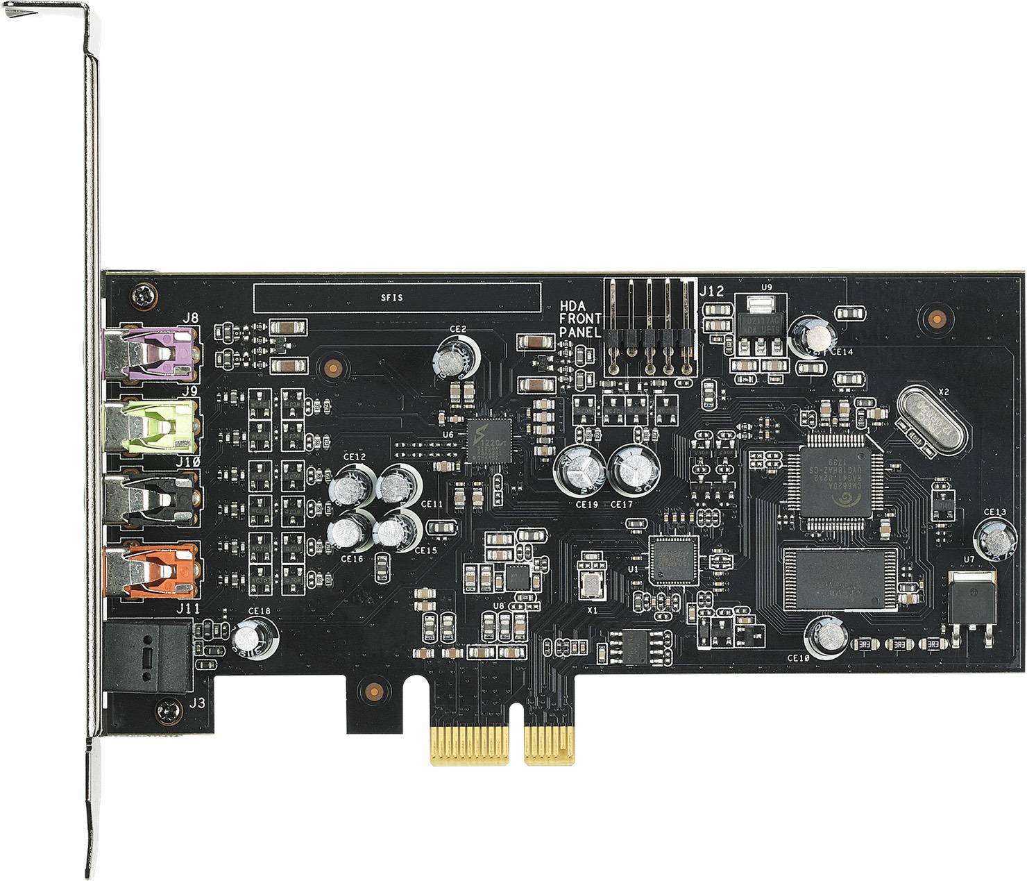850e0ce5a1763 Внутренняя звуковая карта Asus PCI-E Xonar SE устанавливается в корпус ПК и  служит для улучшения качества как входящего, так и исходящего аудиосигнала.