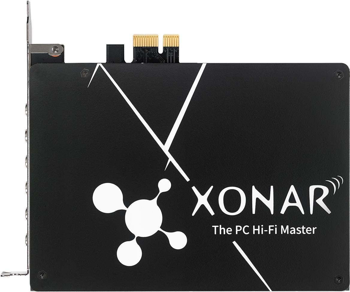 Звуковая карта ASUS Xonar AE (ESS 9023P), XONAR AE звуковая карта asus xonar u3 usb