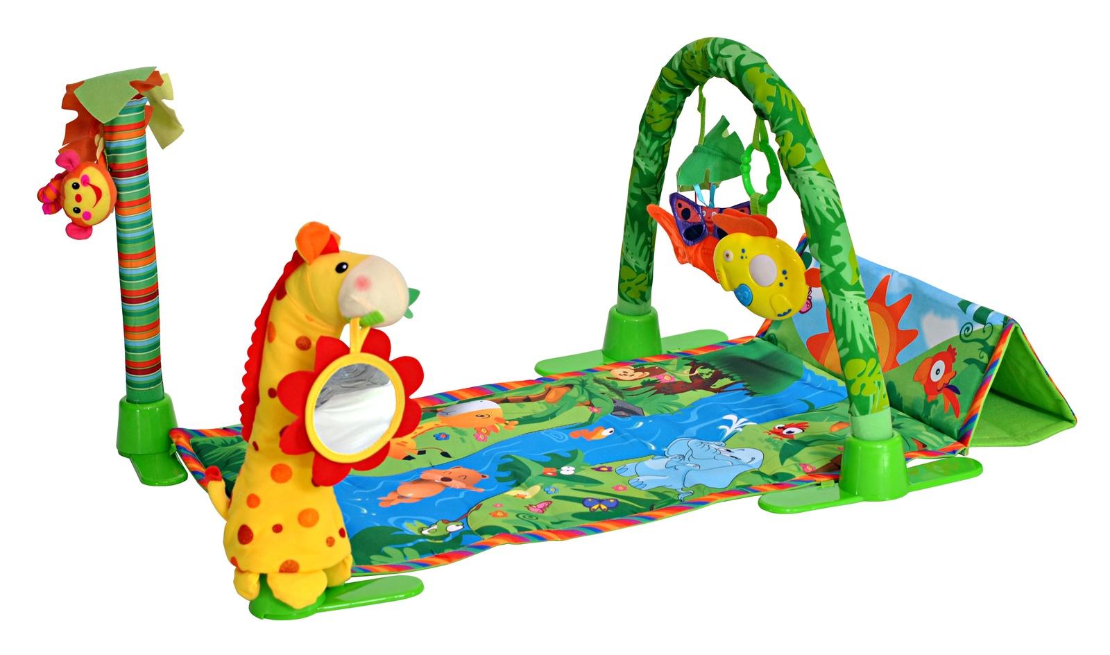 развивающий коврик everflo jungle hs0368150 8151 orange Развивающий коврик Everflo, Райский сад, ПП100004252