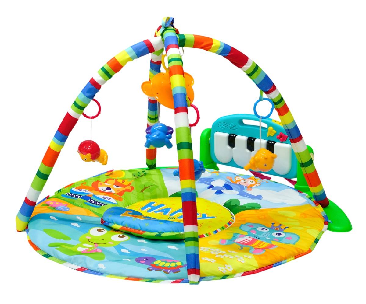 Развивающий коврик Everflo Magic Story, ПП100004335, зеленый развивающий коврик everflo baby hs0368143 8143 green