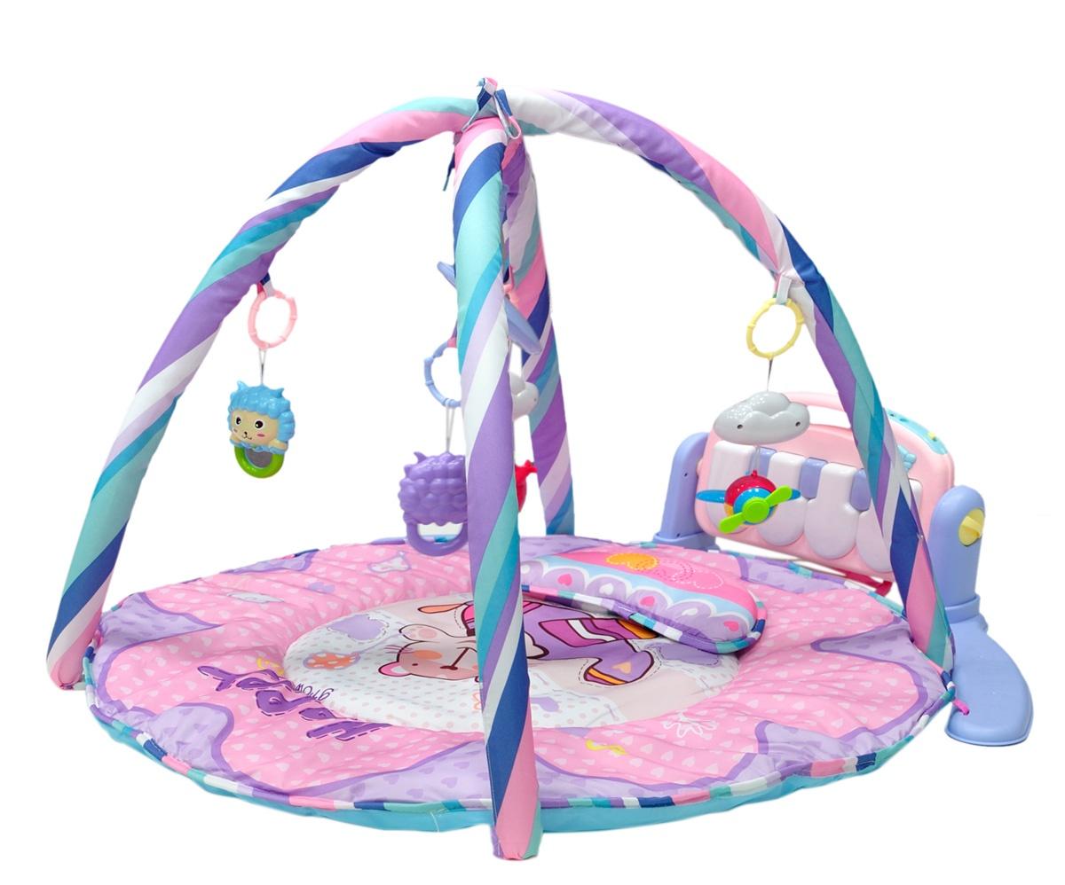 Развивающий коврик Everflo Magic Story, ПП100004336, розовый развивающий коврик everflo baby hs0368143 8143 green