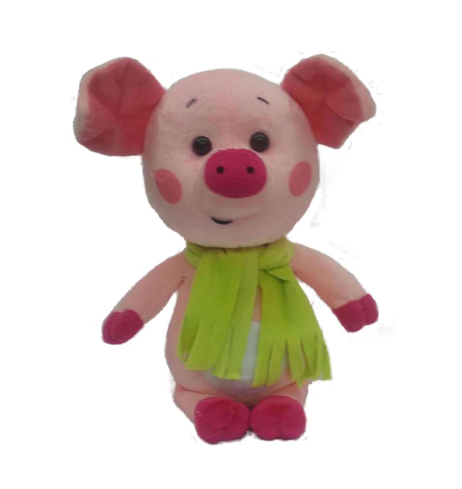 Мягкая игрушка СмолТойс Поросенок Кроха, 6024/РЗ/32, розовый