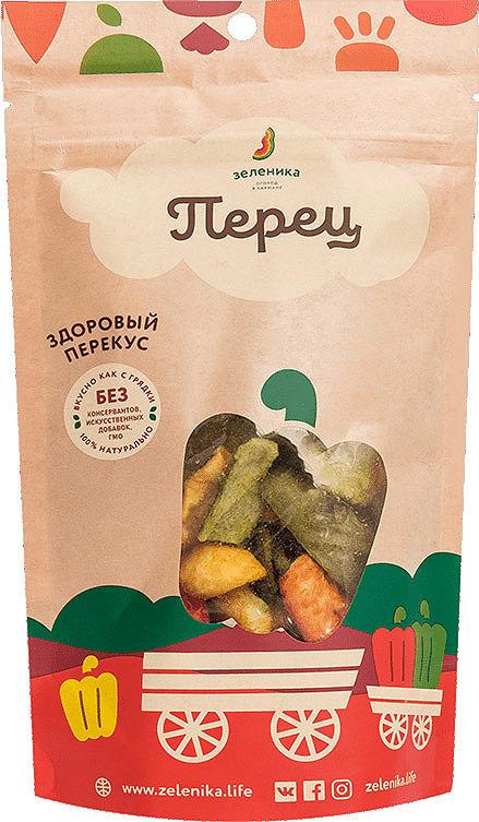 Здоровый овощной перекус Зеленика Сладкий перец, 30 г верхний душ grohe rainshower 27470ls0