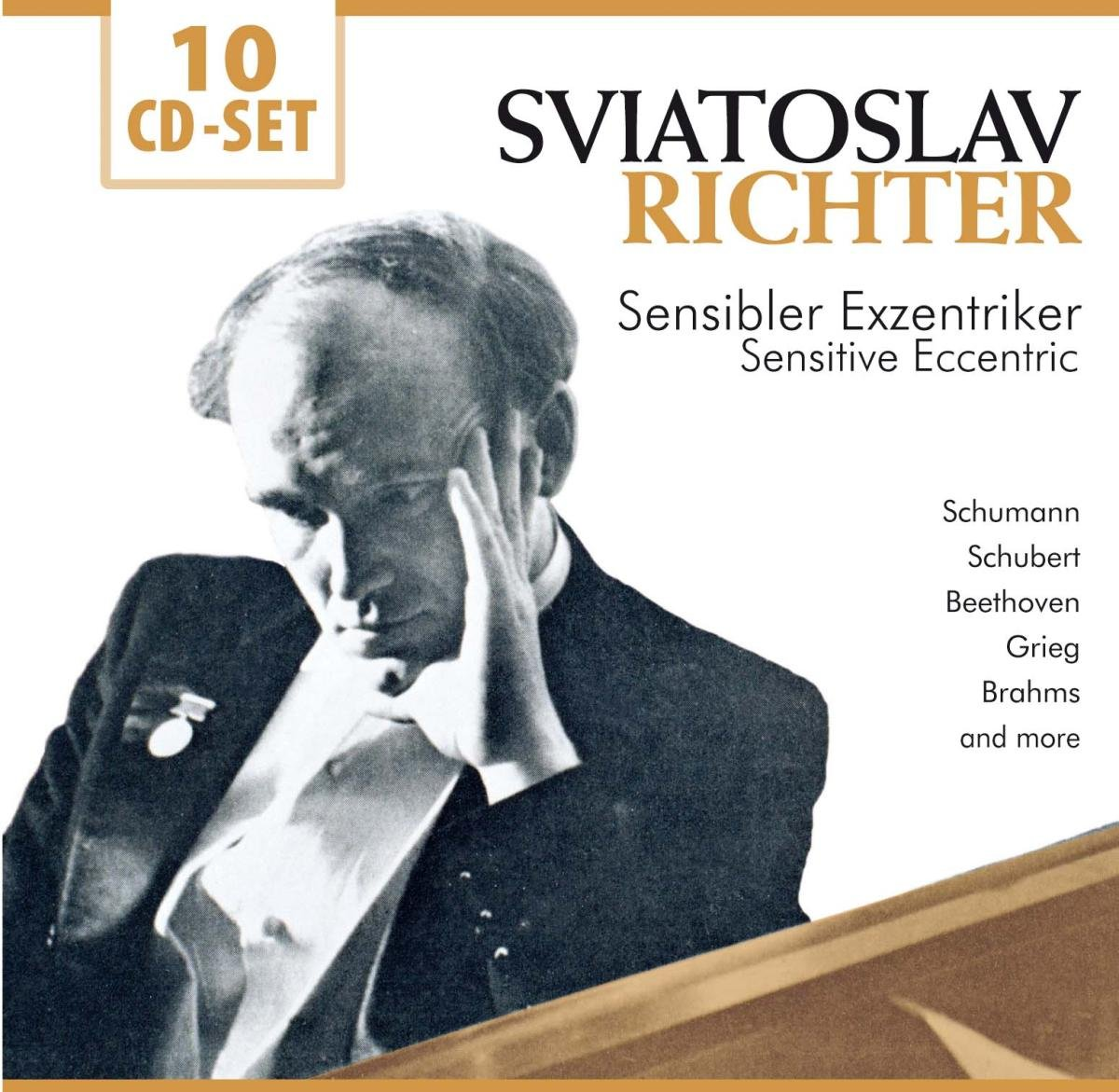 Святослав Рихтер Sviatoslav Richter. Sensibler Exzentriker / Sensitive Eccentric (10 CD) цены онлайн
