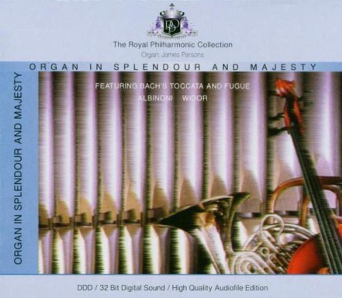 лучшая цена Royal Philharmonic Orchestra,Джеймс Парсонс Royal Philharmonic Orchestra, James Parson. Organ In Splendour And Majesty