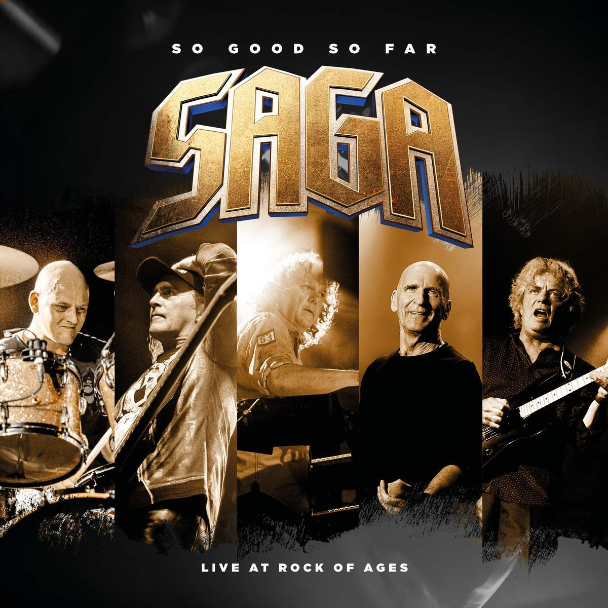 Saga Saga. So Good So Far - Live At Rock Of Ages (2 LP) supertramp the story so far