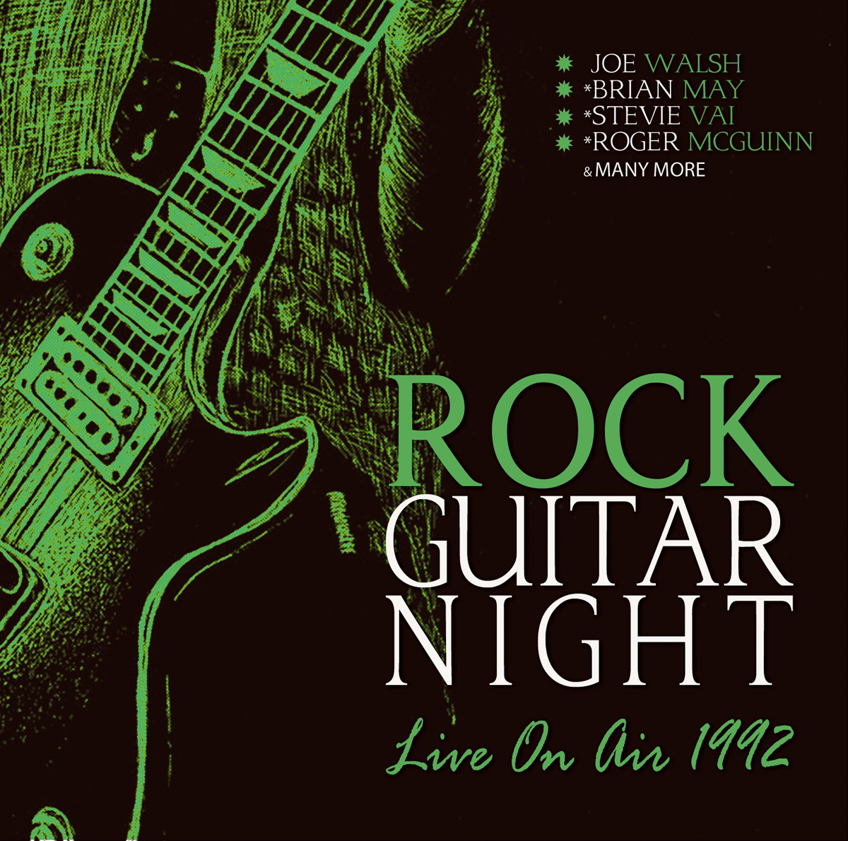 купить Rock Guitar Night - Live On Air 1992 дешево