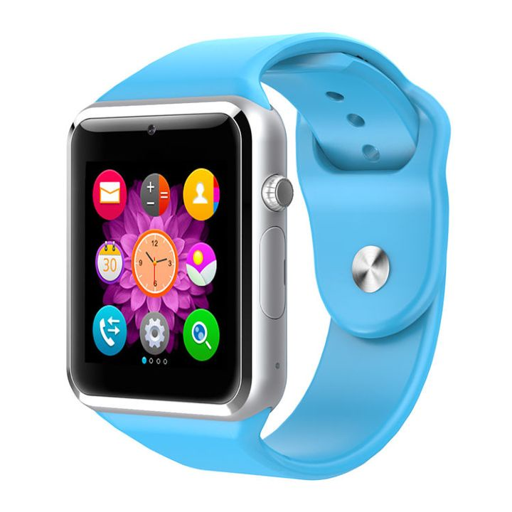 Фото - Умные часы ZDK A1, 4386, голубой видео