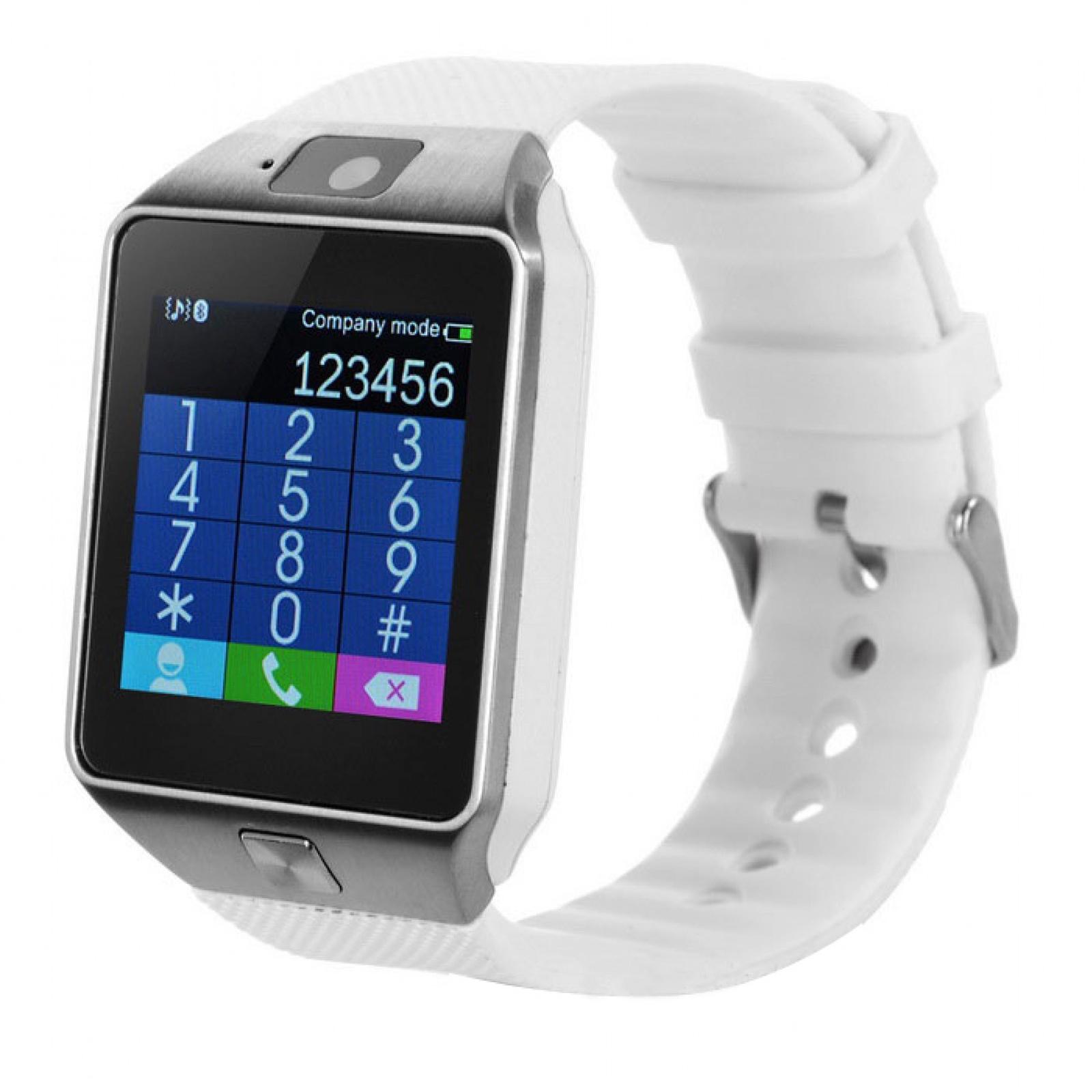 Умные часы DZ09, 1876, белый умные часы ginzzu® gz 701 black 50м android ios bluetooth мониторинг сна калорий физ активности