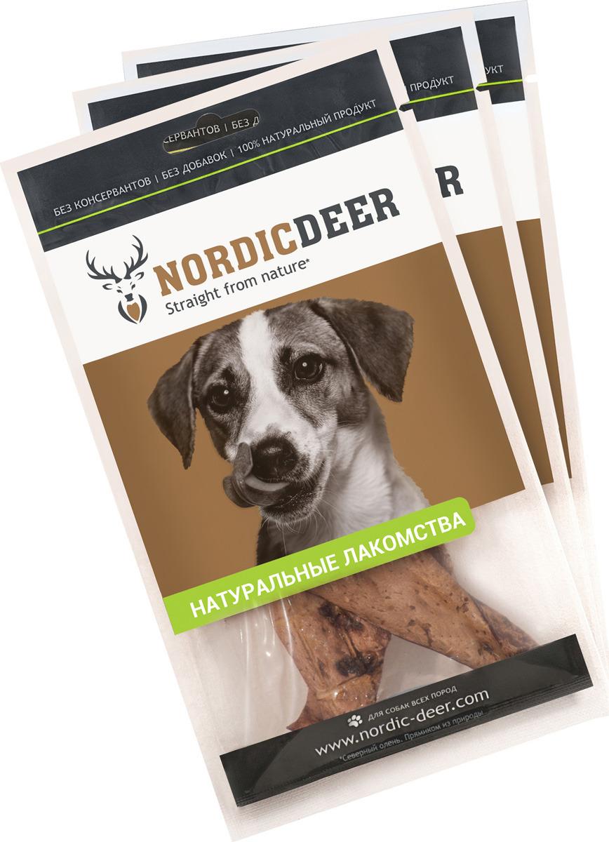 Лакомство для собак Nordic Deer, Легкое баранина 30гр (3шт) лакомство для собак деревенские лакомство легкое баранье мелкое 30гр