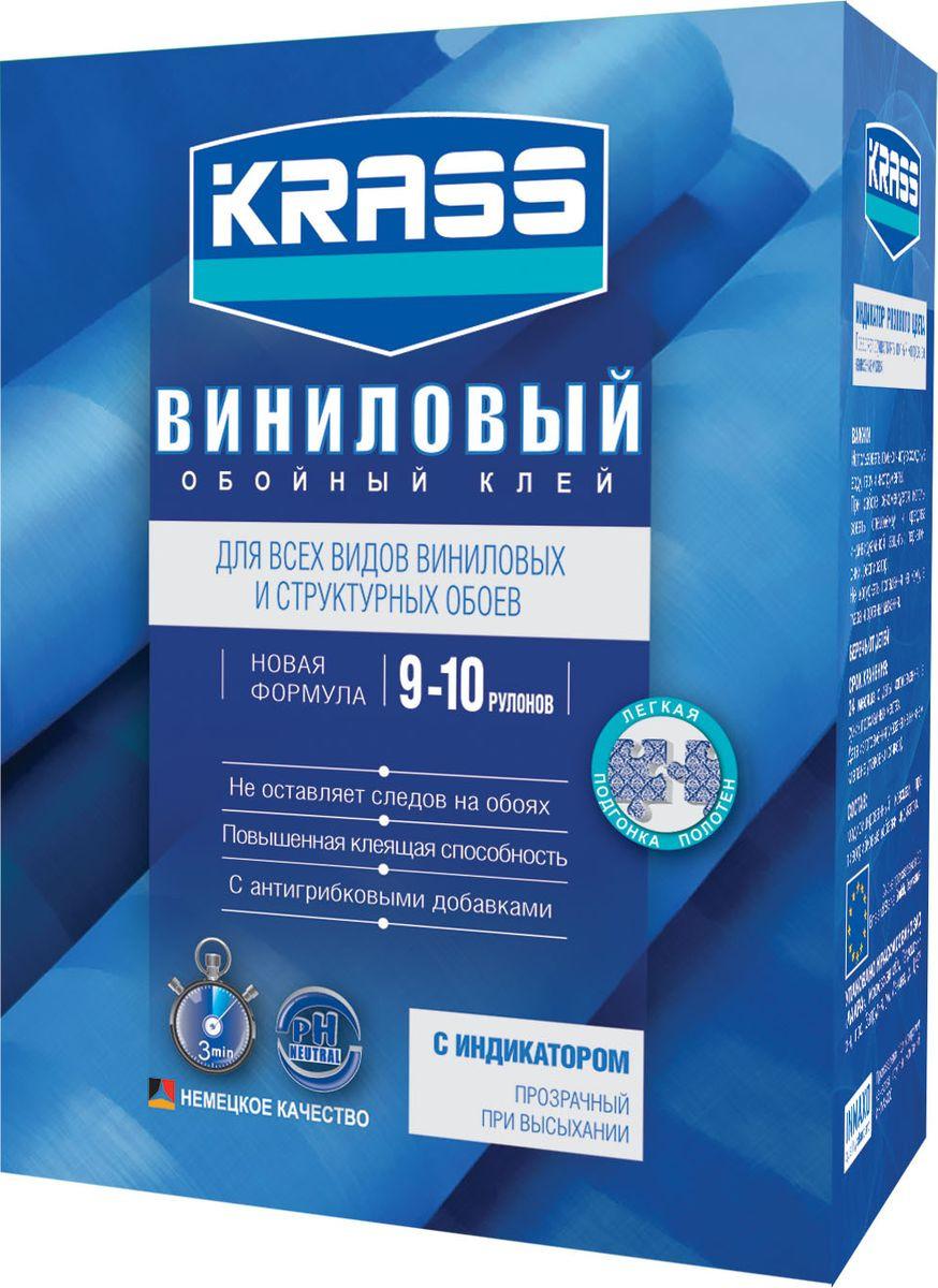 Клей Krass Виниловый, для обоев, 4680002595641, 300 г клей для виниловых обоев kleo smart 5 6 рулонов 150 г
