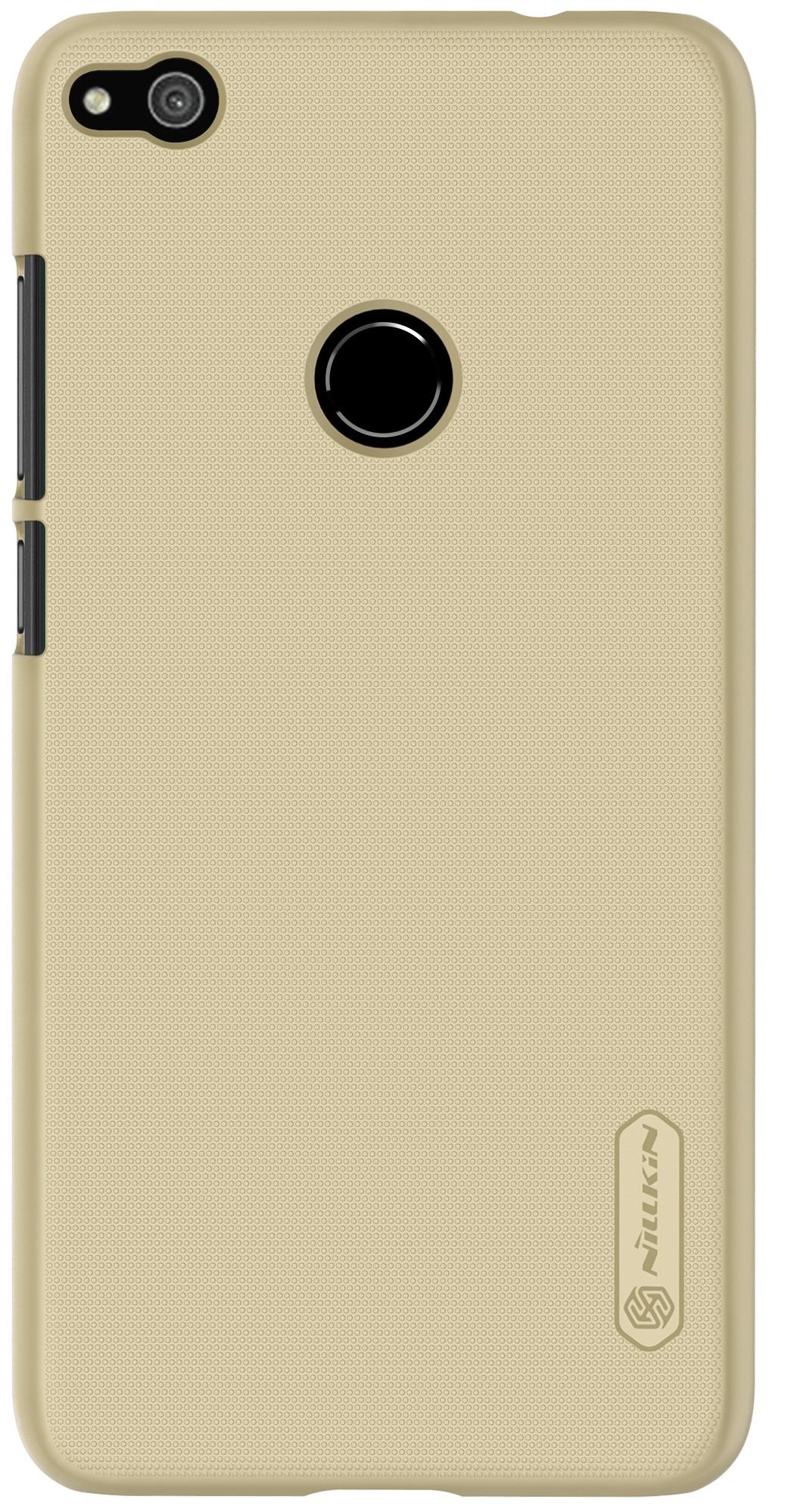 Накладка Nillkin для Huawei P8 Lite золотистый не трогайте меня pattern мягкий тонкий тпу резиновый силиконовый гель дело чехол для huawei p8 lite