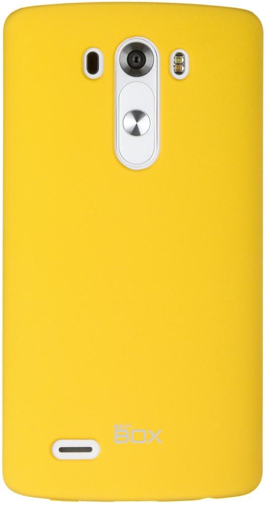 Накладка skinBOX для LG G3 желтый накладка skinbox для lg g4s 2000000079226 черный