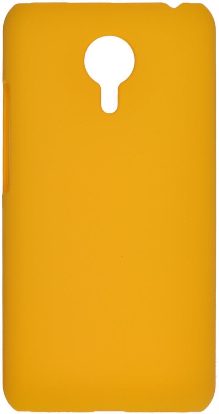 Накладка skinBOX для Meizu Pro 5 желтый цена 2017