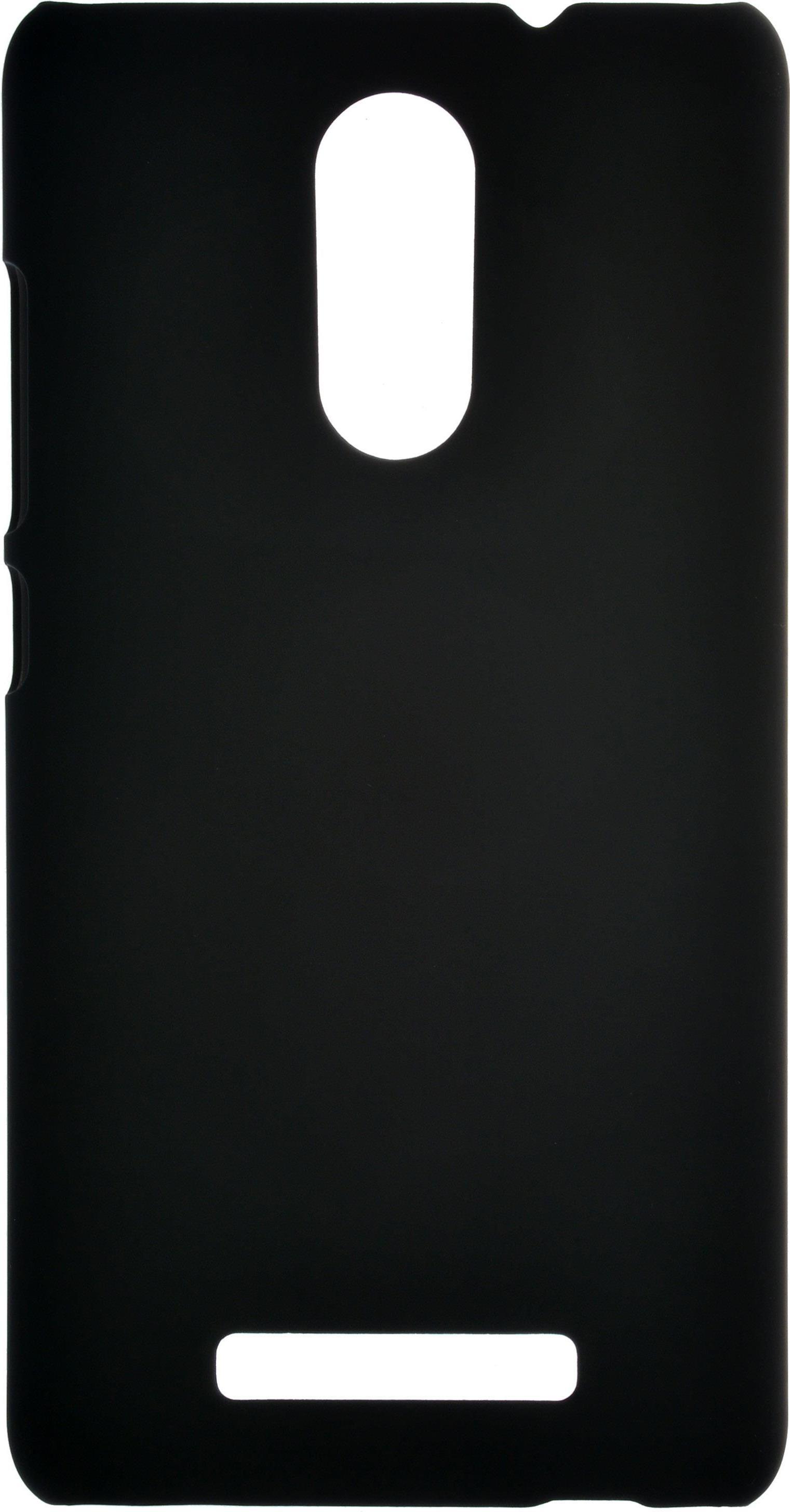 Накладка skinBOX для Xiaomi Redmi Note 3 черный цена