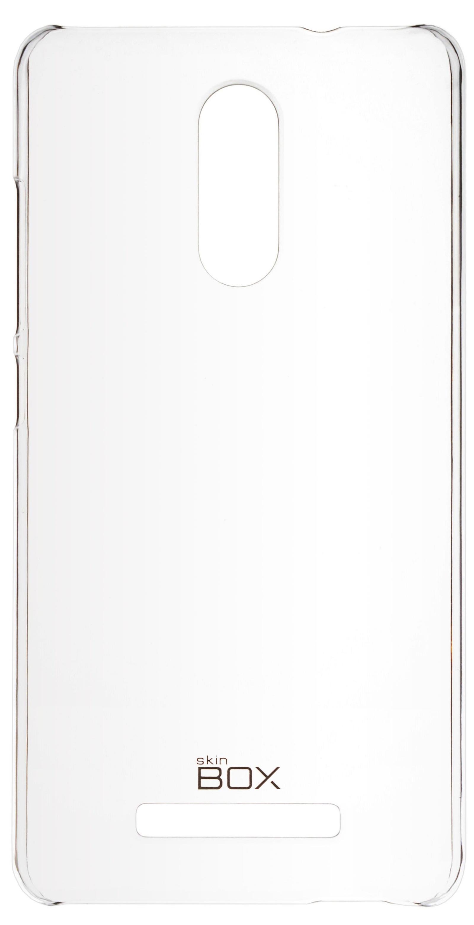 Накладка skinBOX для Xiaomi Redmi Note 3 прозрачный чехол skinbox xiaomi redmi note 3