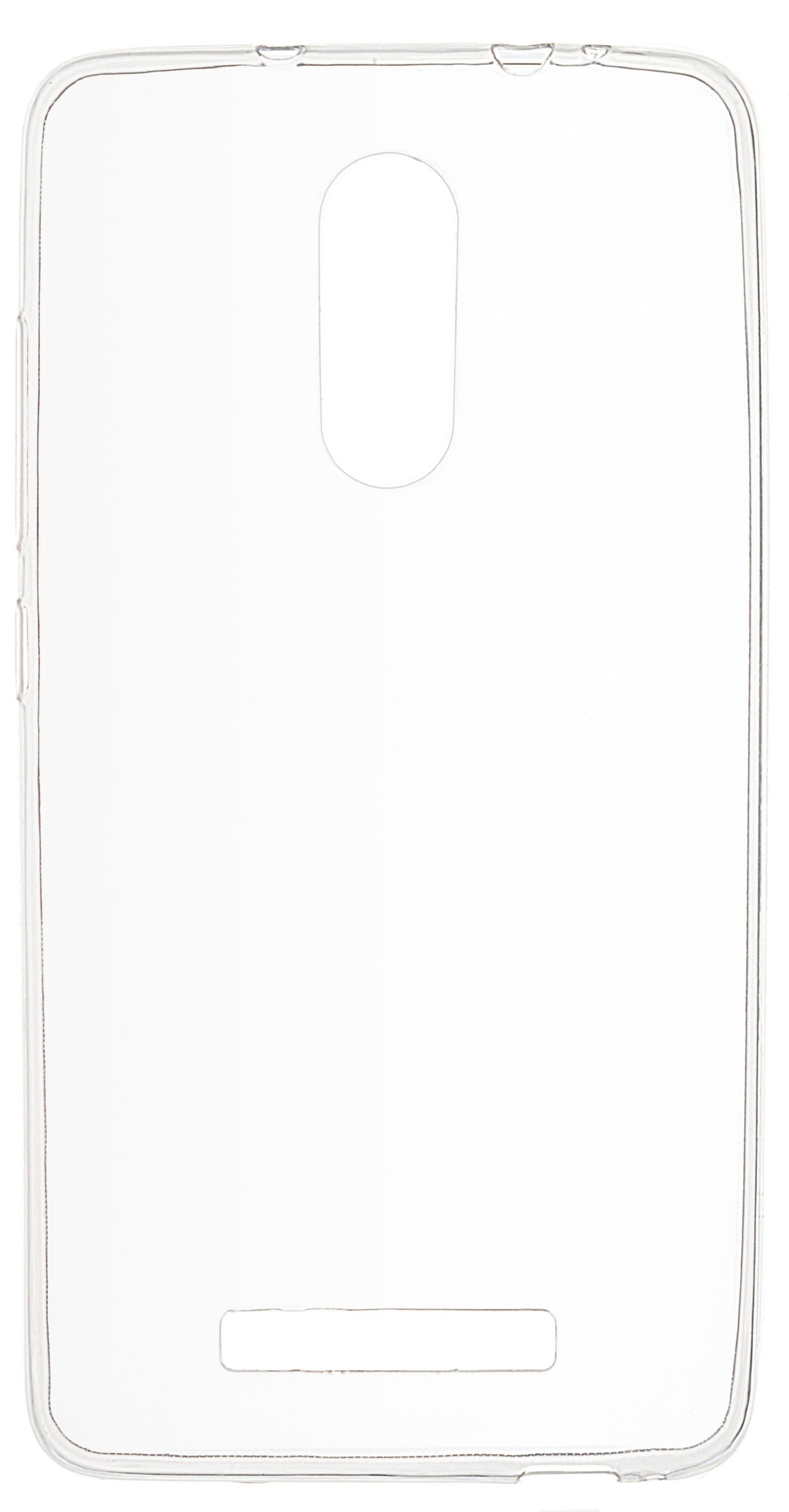 Накладка skinBOX для Xiaomi Redmi Note 3 прозрачный цена