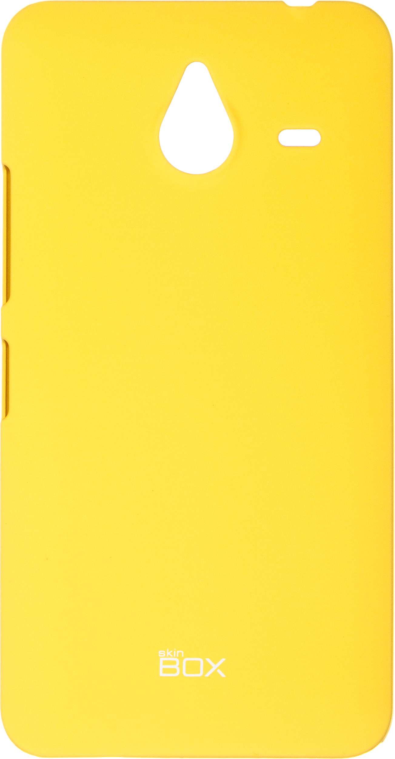 Накладка skinBOX 4People для Microsoft Lumia 640 XL 2000000073798, желтый чехол для microsoft lumia 950 skinbox 4people черный
