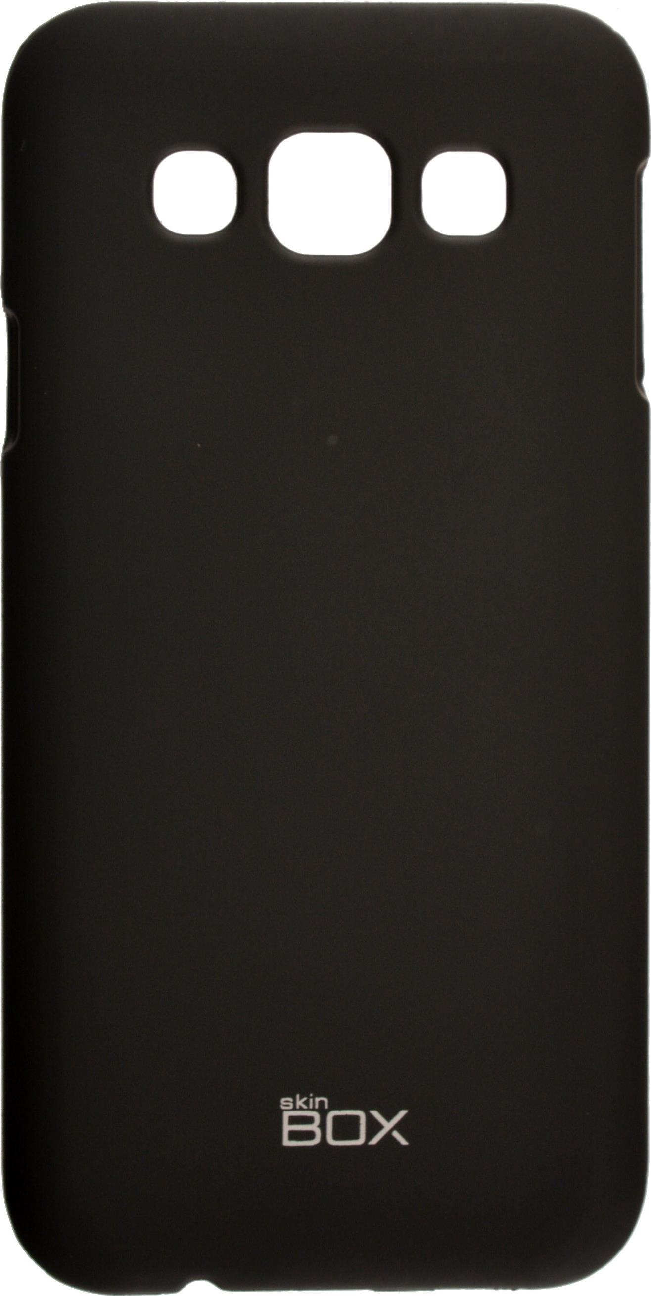 Накладка skinBOX для Samsung Galaxy E5 черный чехлы накладки для телефонов кпк dob samsung e5 e5 galaxy e5 e5