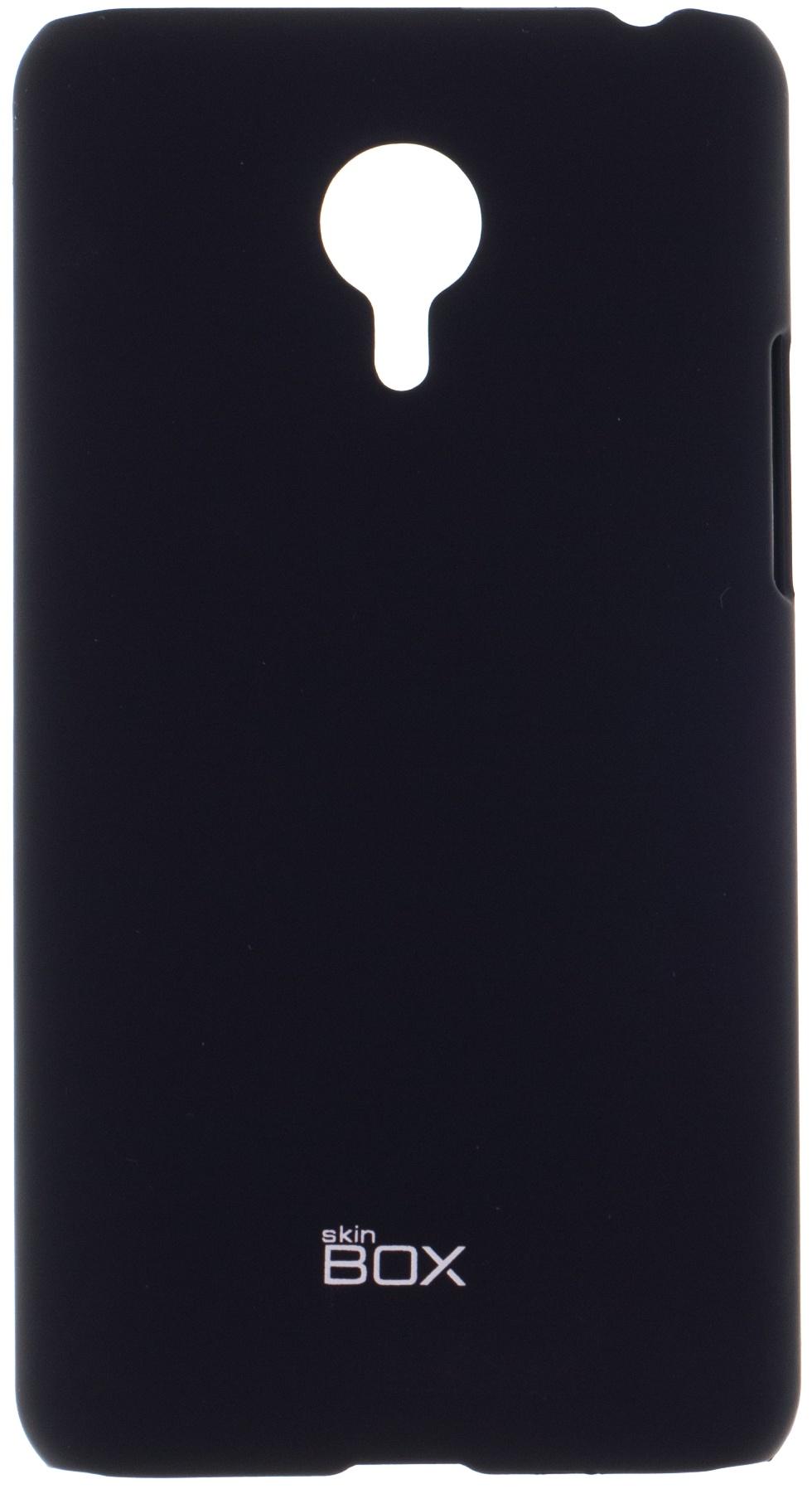 Накладка skinBOX для Meizu MX4 Pro черный телефон meizu pro 5 64gb серебристо черный