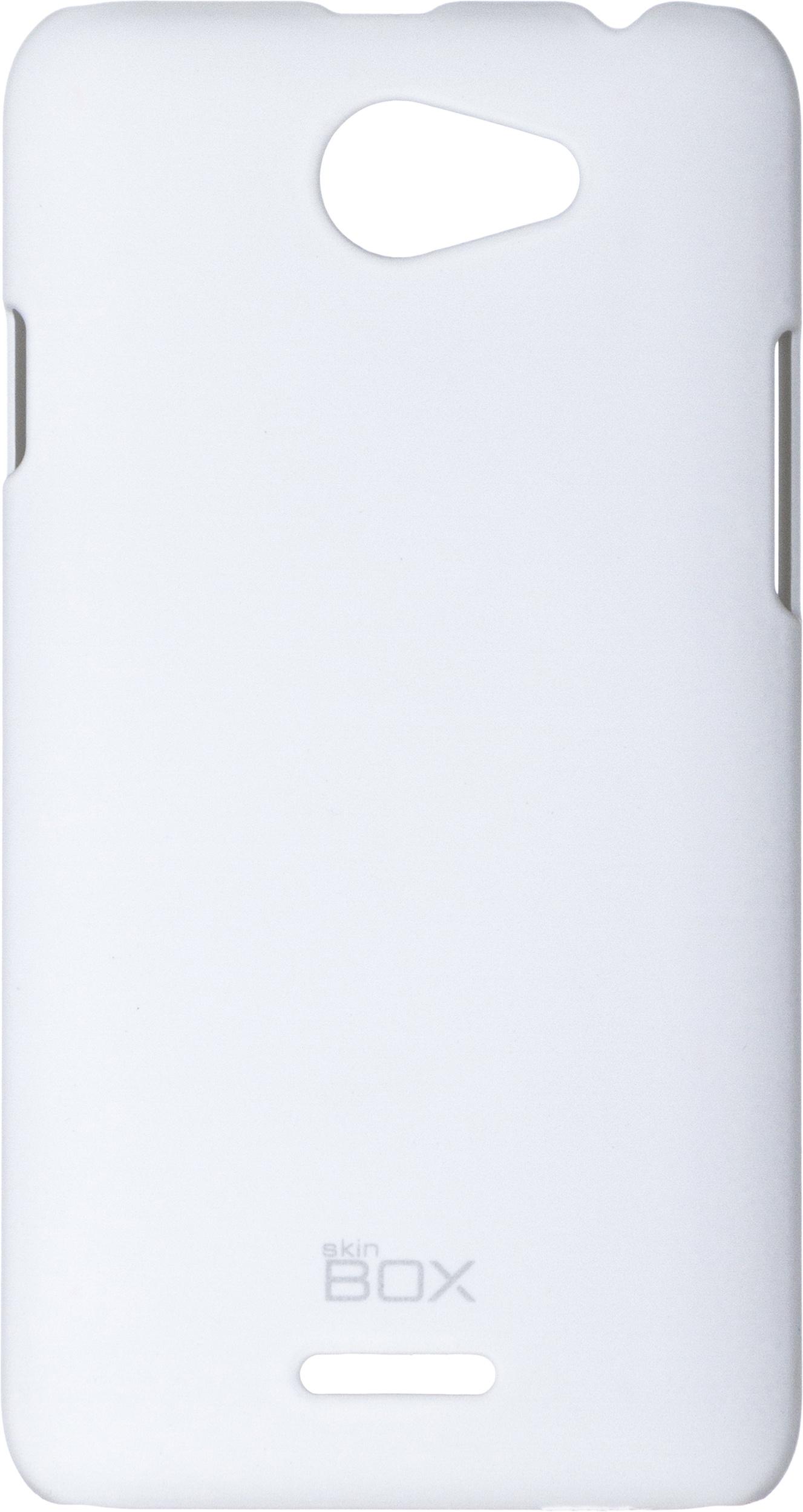 Накладка skinBOX для HTC Desire 516 белый все цены