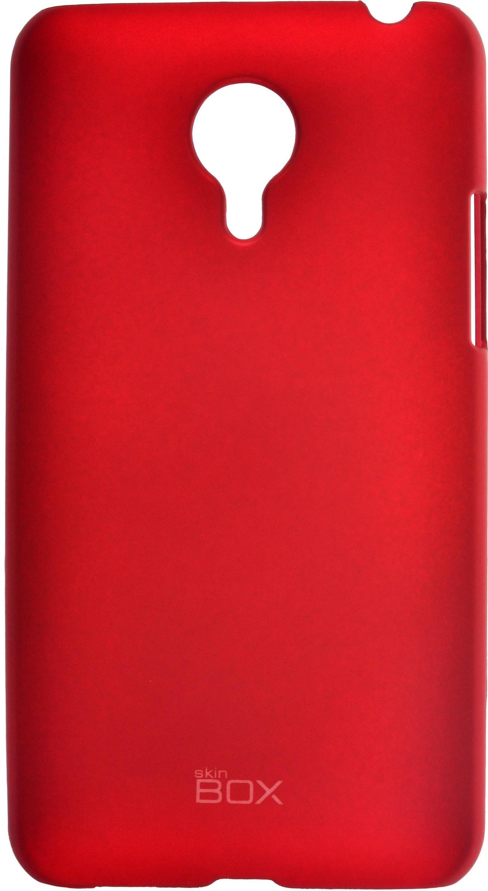 Накладка skinBOX для Meizu MX4 красный