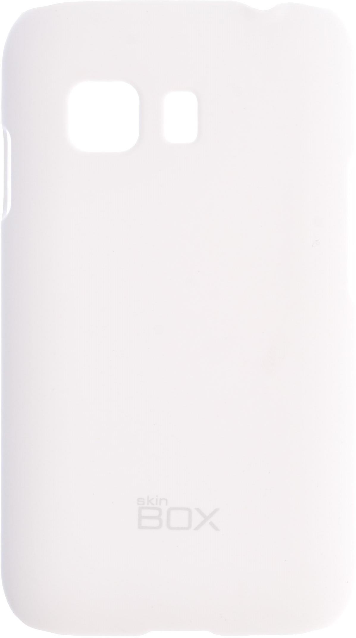 Накладка skinBOX для Samsung Galaxy Young 2 белый