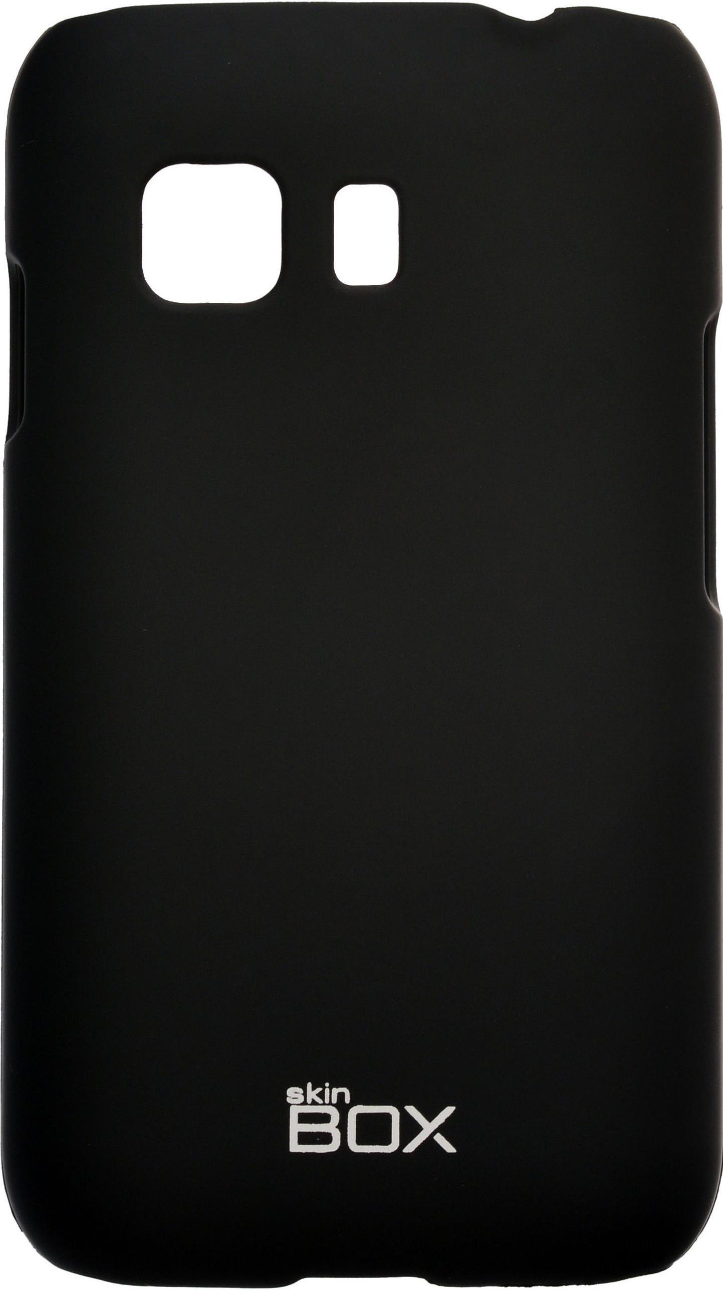 Накладка skinBOX для Samsung Galaxy Young 2 черный кеды мужские s oliver цвет синий 5 5 13604 22 805 101 размер 45