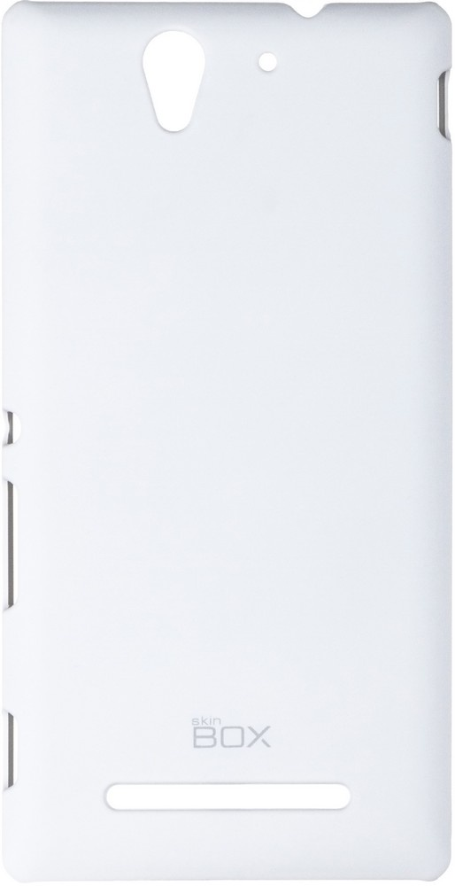 Накладка skinBOX для Sony Xperia C3 белый skinbox slim aw чехол для sony xperia e3