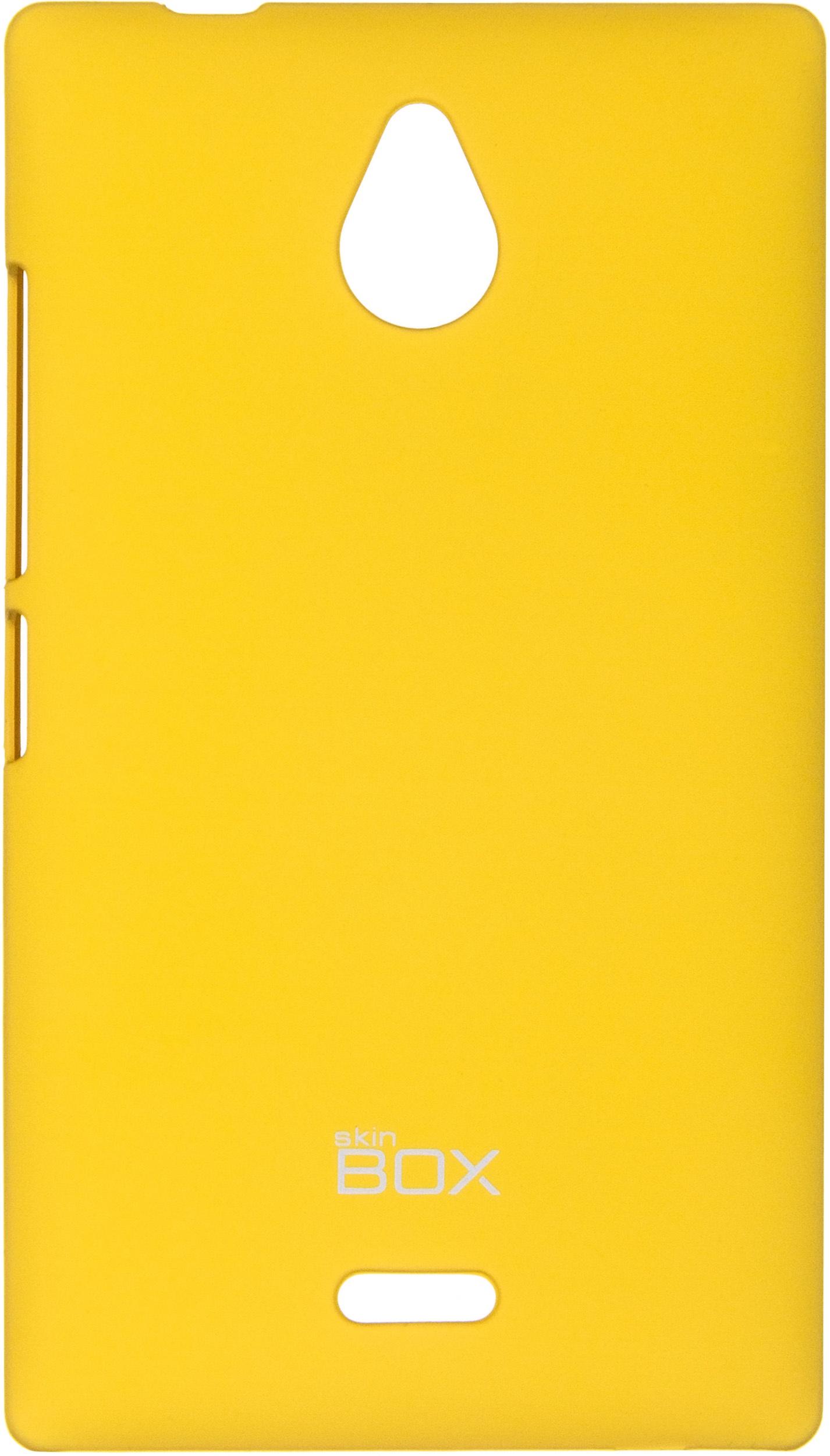 Накладка skinBOX для Nokia X2 желтый
