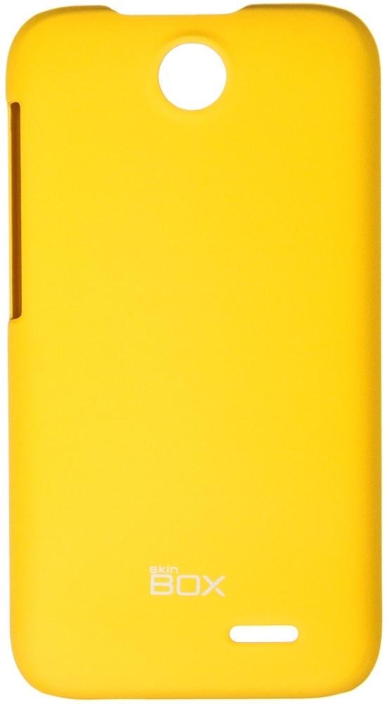Накладка skinBOX для HTC Desire 310 желтый настройка htc max