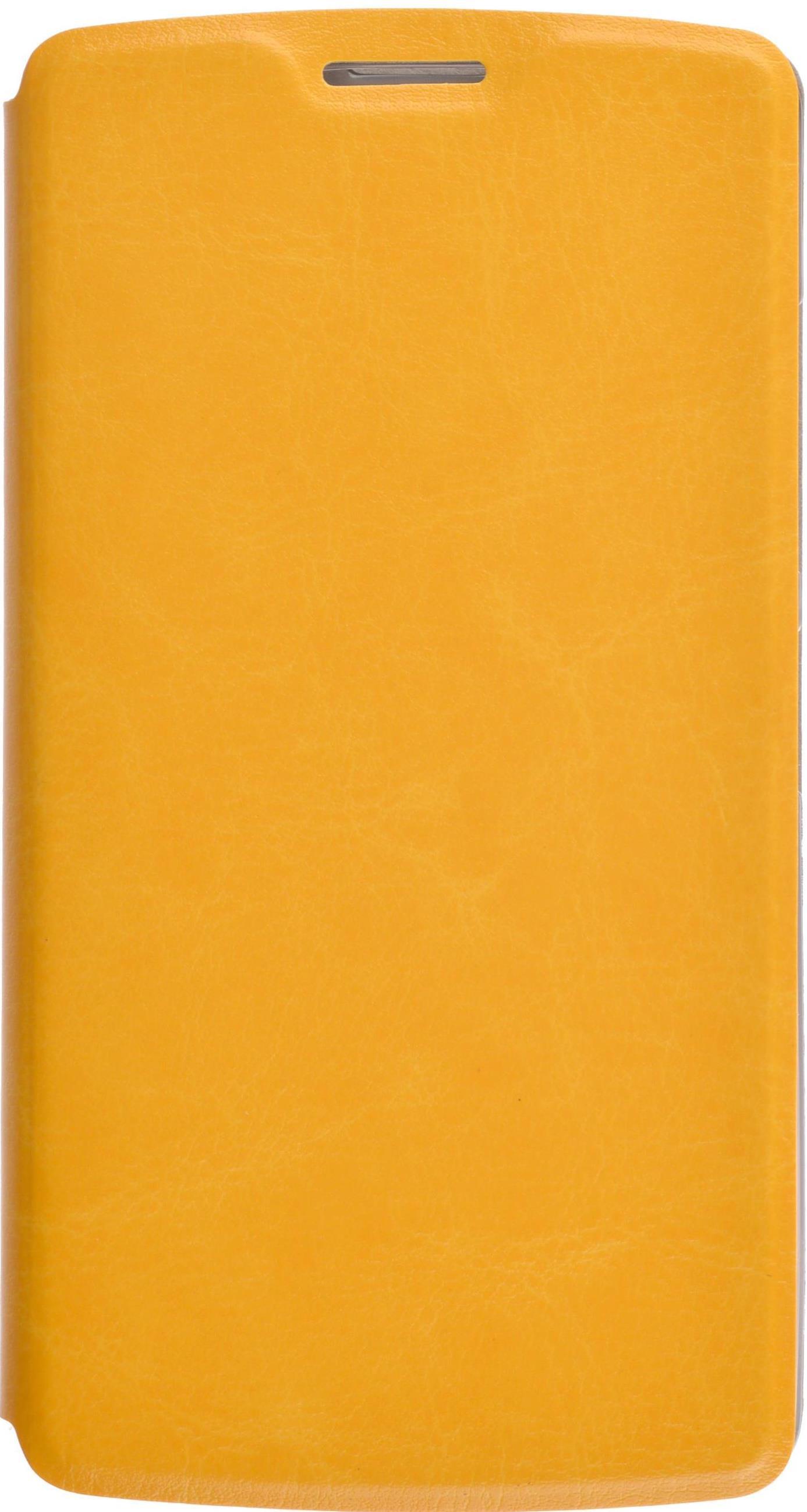 Чехол Skinbox Lux для Lenovo A2010, 2000000082899, желтый