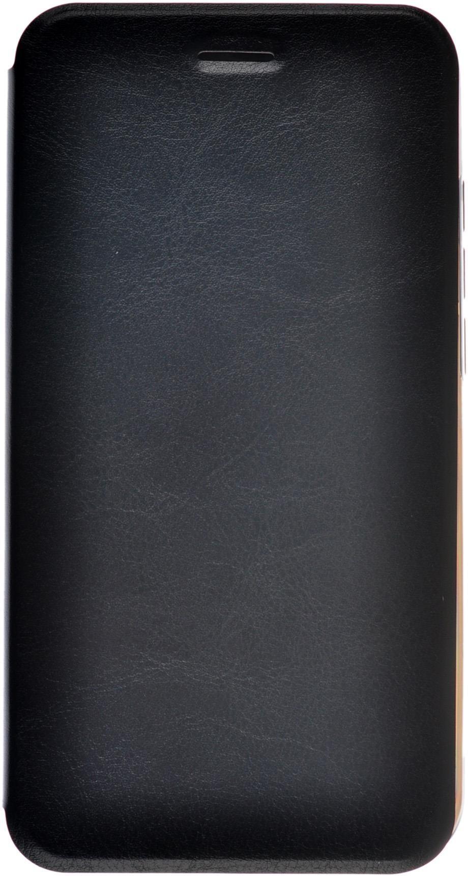 Чехол Skinbox Lux для Micromax Canvas Spark 2 Q391, 2000000078496, черный чехол книжка micromax mmx q3551 черный