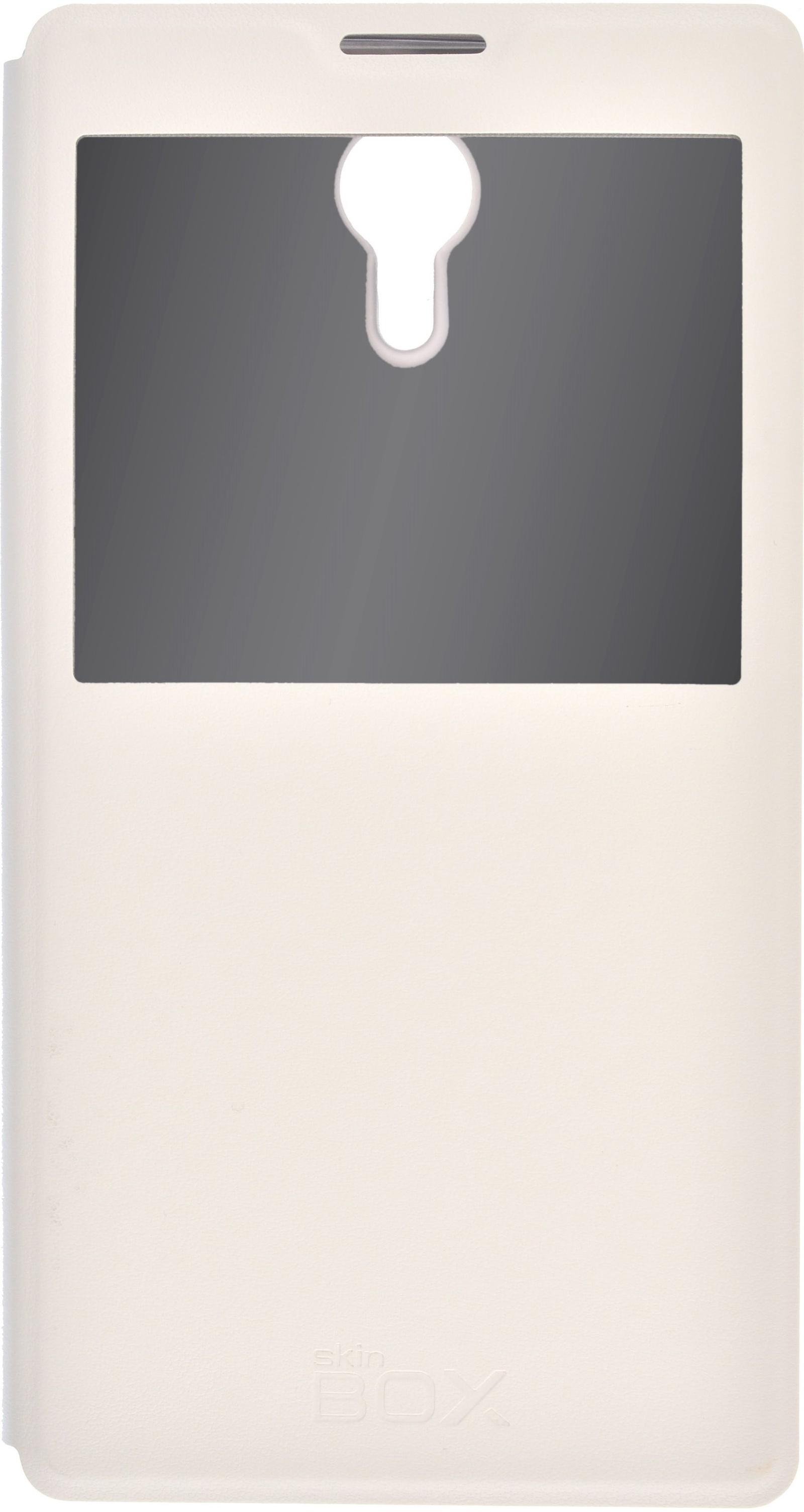 лучшая цена Чехол SkinBox Lux AW для Lenovo P90, 2000000076805, белый