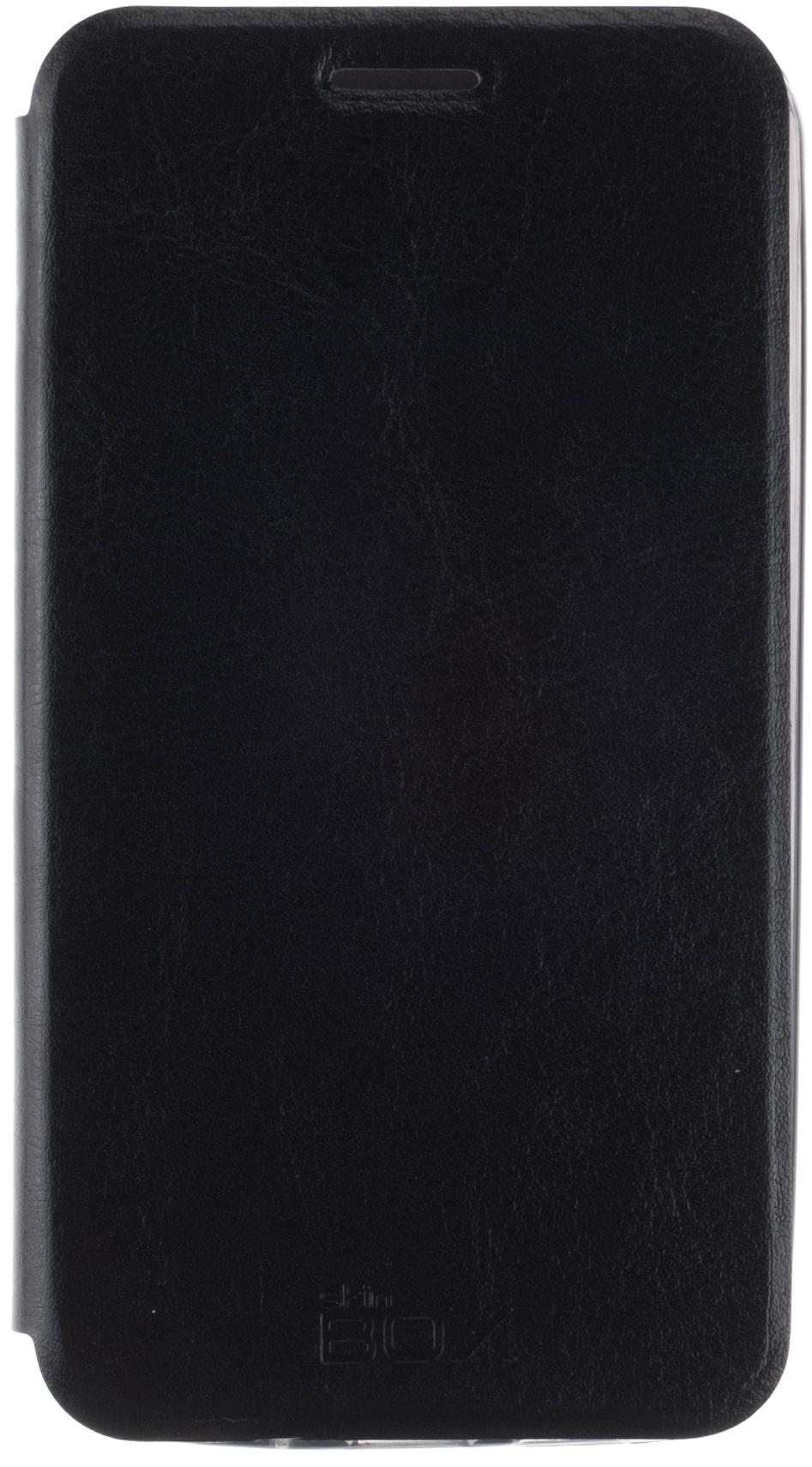 Чехол SkinBox Lux для Meizu MX4, 2000000076089, черный