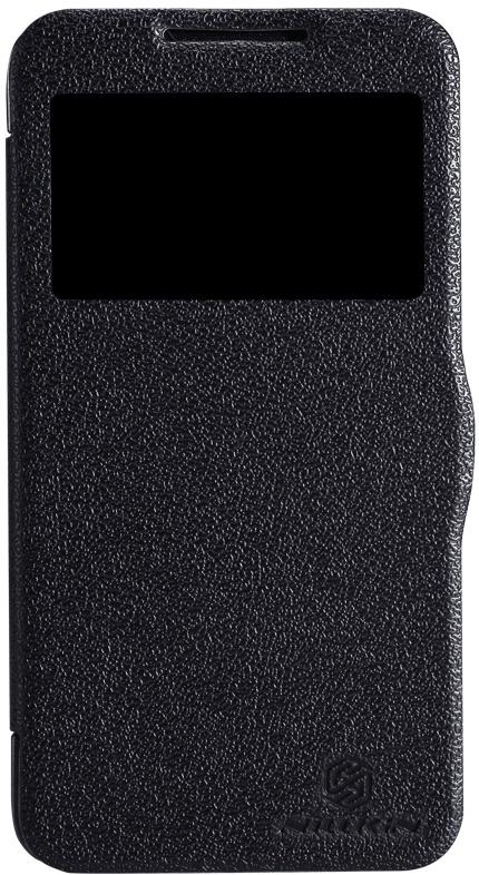 Чехол Nillkin Fresh для Lenovo A680, 2000000014760, черный цена и фото