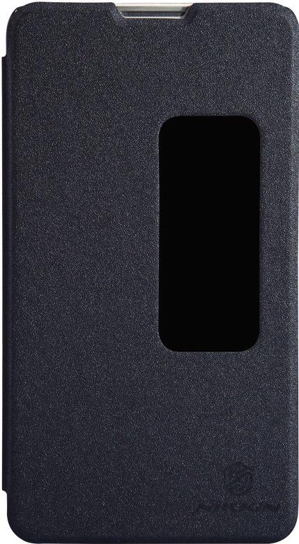 Чехол Nillkin Sparkle для Huawei Mate 2, 6956473276364, черный