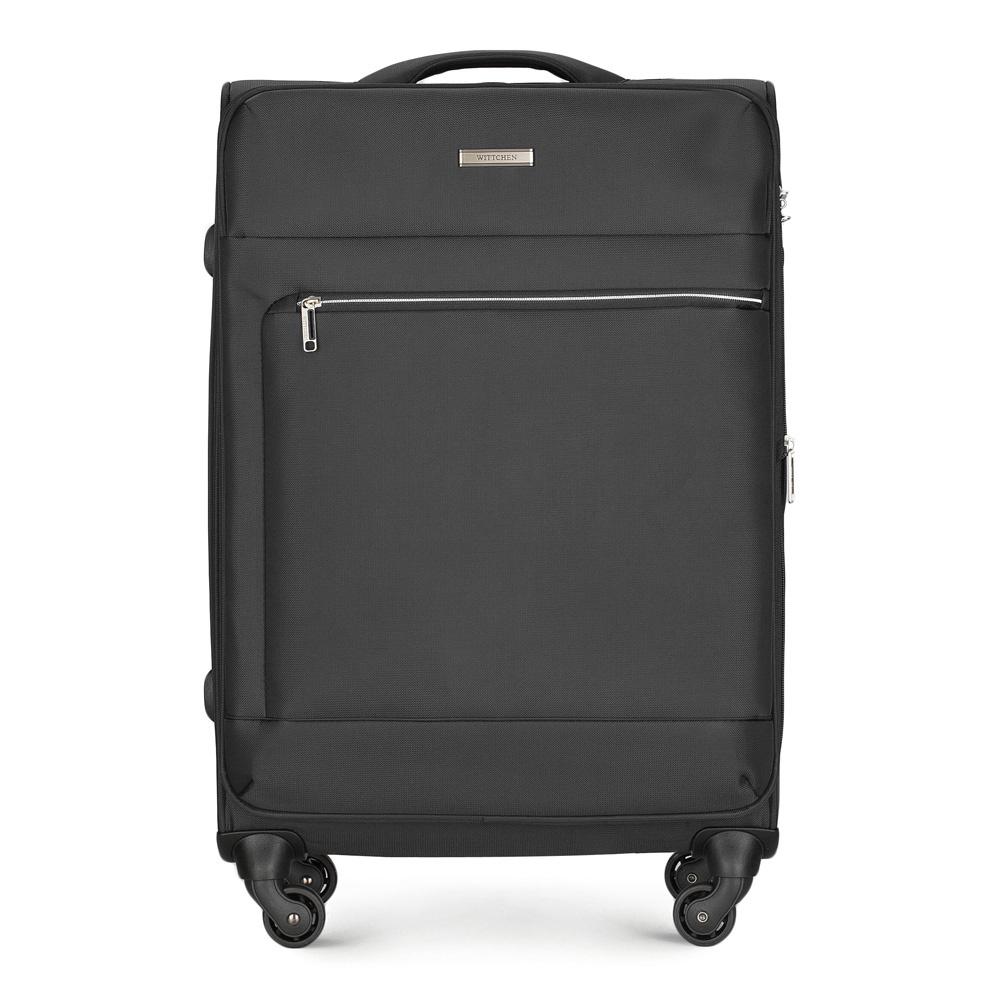 Чемодан Wittchen 56-3S-622, черный чемодан wittchen 56 3s 631 56 3s 631 13 черный