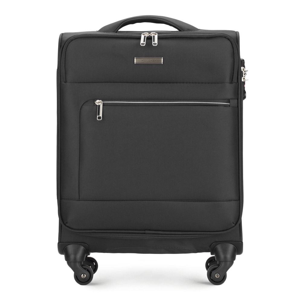 Чемодан Wittchen 56-3S-621, черный чемодан wittchen 56 3s 631 56 3s 631 13 черный