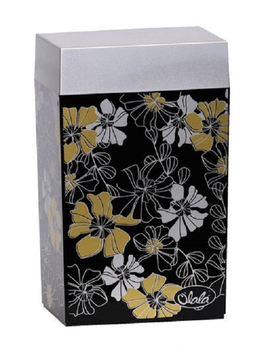 Банка для сыпучих продуктов O'lala 2133, 1,25 л банка для сыпучих продуктов персидская роза