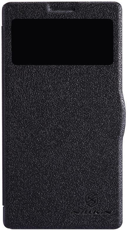 Чехол Nillkin Fresh для Lenovo K910, 2000000011851, черный skinbox flip case чехол для lenovo k910 black
