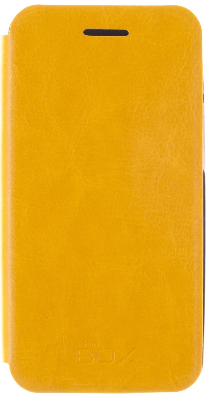 Чехол SkinBox Lux для Asus A400CG, 2000000076218, желтый roar aw чехол для asus zenfone 4 a400cg white