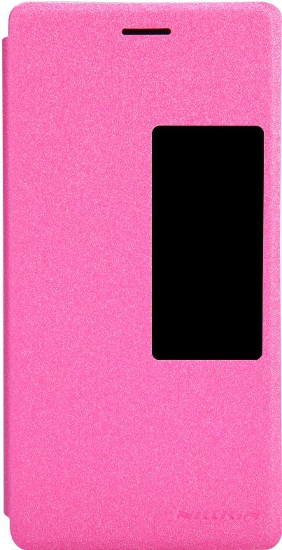 Чехол Nillkin, для Huawei P7, 6956473284277, розовый