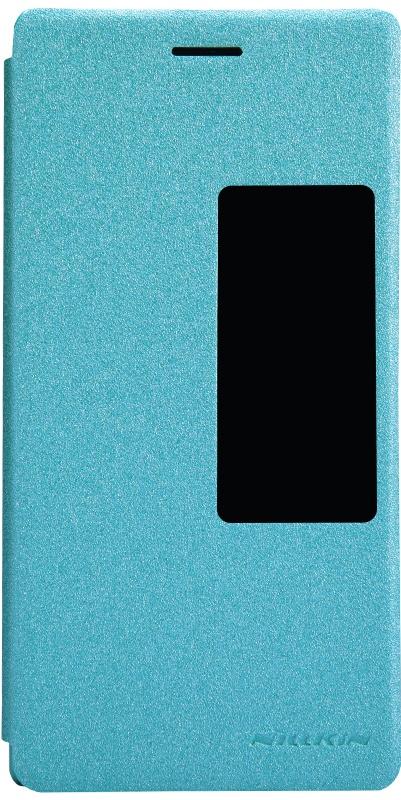 Чехол Nillkin, для Huawei P7, 6956473284284, голубой