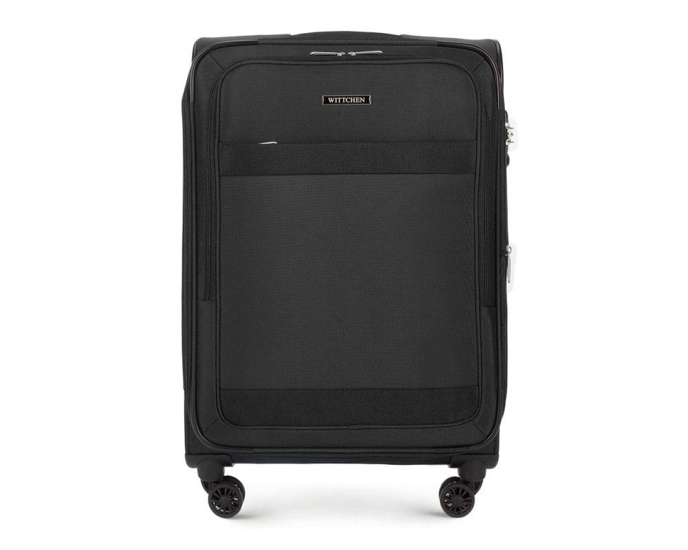 Чемодан Wittchen 56-3S-582, черный чемодан wittchen 56 3s 631 56 3s 631 13 черный