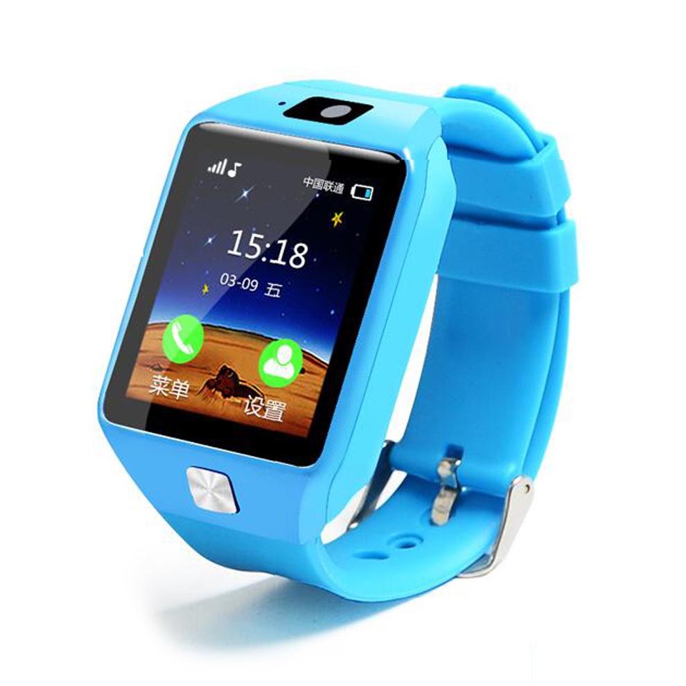 Умные часы ZDK DZ09 Kids, 2547, голубой умные часы ginzzu® gz 701 black 50м android ios bluetooth мониторинг сна калорий физ активности
