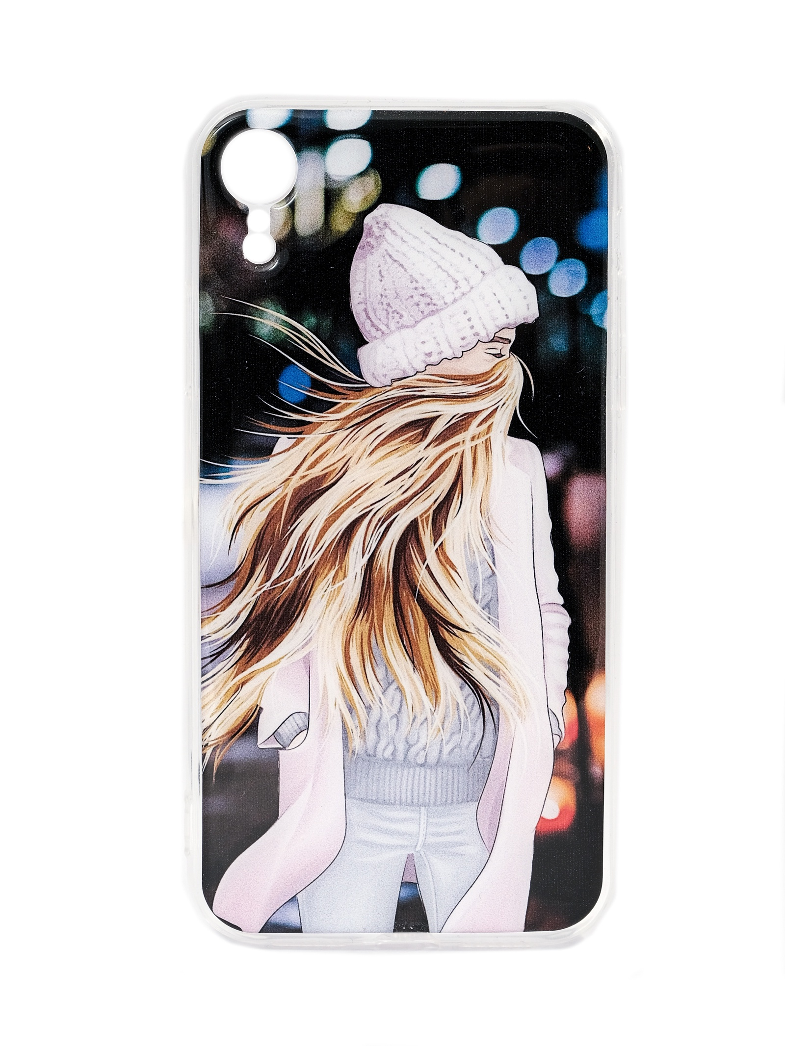 Чехол Mitya Veselkov В шапке и пальто для Apple iPhone XR, XR-021, разноцветный чехол для iphone 5 mitya veselkov птички невелички