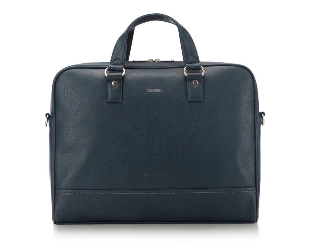 Сумка для ноутбука Wittchen 87-3P-506, темно-синий сумка хлопковая для коврика сутра dy 0 35 кг 70 см синий 18 см