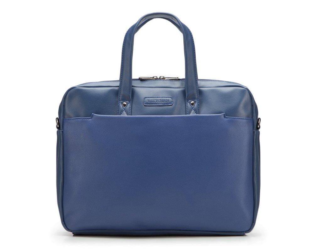Сумка для ноутбука Wittchen 87-3P-503, темно-синий сумка хлопковая для коврика сутра dy 0 35 кг 70 см синий 18 см