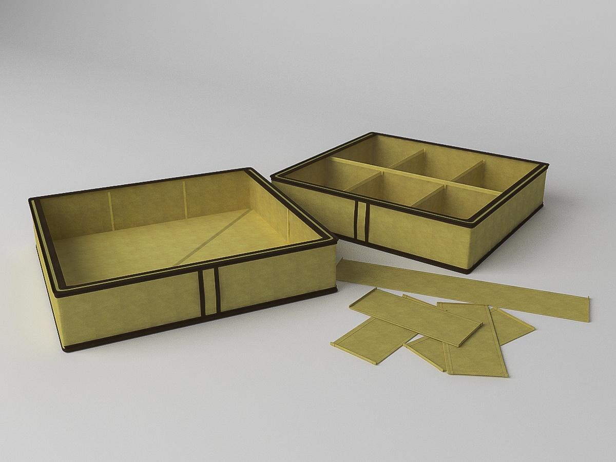 Короб для обуви Камея, на 6 ячеек, ch1437, 56 х 52 х 12 см два кофра для обуви 66х32х22 homsu два кофра для обуви 66х32х22